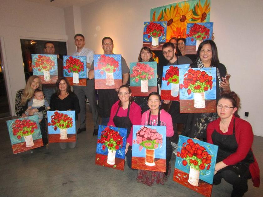 Art class in Scottsdale, AZ